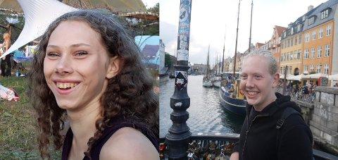 TRENGER FAMILIE: Nuria fra Tyskland og Lorenzo fra Italie gleder seg til å komme til Telemark
