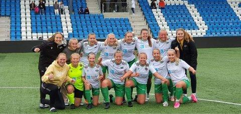 BRA JOBBA: Snøgg Fotball Senior imponerte stort på hjemmebane søndag da de scoret hele 16 mål og ikke slapp inn et eneste i eget mål.