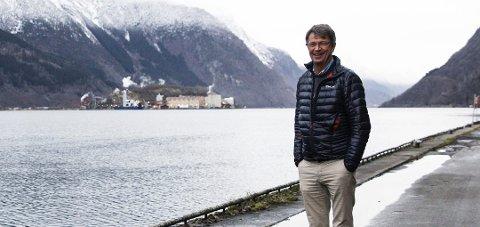STYRELEDER: Ole Martin Otterlei sier han har klokkertro på produktene til Oslofjord Ressurspark, men må innse at produktene ikke kom på markedet før kassen var tom.