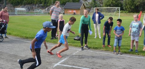 Tradisjon: Tvedestrandslekene i friidrett har blitt arrangert på Lyngmyr i mange år. Arkivfoto
