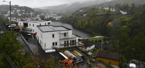 Et bygg til: Tvedestrand kommune ga nylig igangsettingstillatelse for boligblokk nummer tre.