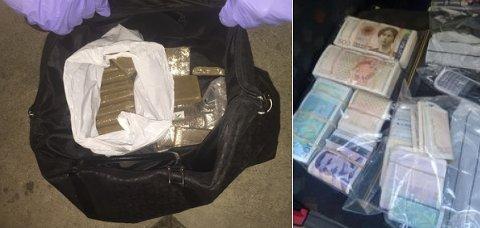 NARKO: Politiet fant både penger og narkotika i leiligheten på Fagerborg. Selv forklarte mannen at i alle fall deler av pengene stammet fra lovlige kilder, men det trodde ikke Oslo tingrett på.