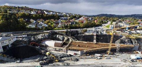 Statens vegvesen skal støpe på strekningen E39 Svegatjørn-Rådal i 40 timer fra mandag klokken 1700. Veien vil være åpen.
