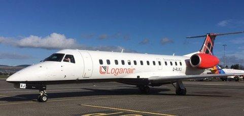 Loganair skal bruke sin flåte av 37-seters ERJ 135- fly mellom Bergen og Edinburgh.