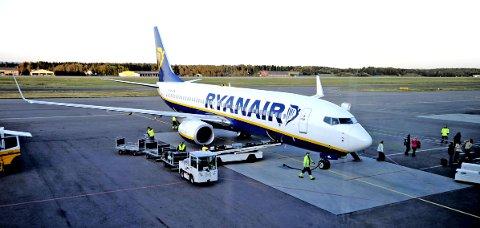 Ryanair har meldt at de forlater Rygge. Trine Skei Grande vil juble den dagen det skjer.