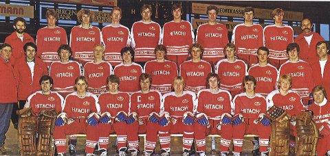 LOKALE HELTER: (1) Stjernen (øverst til venstre) sikret seg i 1981 det første NM-gullet. (2) Leif Jenssen tok OL-gull i vektløfting, mens (3) Jørn Andersen ble den første utenlandske toppscoreren i Bundesliga i 1990. (4) Svømmeren Lene Jenssen ble alles yndling med sitt VM-sølv i 1978, mens (5) Mette Bergmann sikret EM-bronse i diskos i 1984. (6) Håndballspilleren Kari Mette Johansen scoret ni mål på ni sjanser i EM-finalen mot Russland, mens (7) Egil «Drillo» Olsen feiret sin største triumf da Brasil ble senket i Marseille i 1998. (8) I jubileumsåret 2017 ble det hockeyfest på Fredrikstad Stadion, da «Winter Classic» mellom Stjernen og Sparta ble avviklet for første gang på norsk jord. (9) FFK med Per «Snæbbus»Kristoffersen, Reidar Kristiansen og Roar «Pontus» Johansen skrev seg inn i historiebøkene med seieren over Ajax.