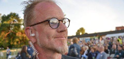 Siste konsert: Frank Tostrup har deltatt i kulissene på mange fyrverkerikonserter. Men nå er det slutt, i alle fall inntil videre. Foto: Trude Brænne Larssen