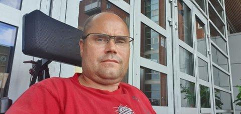BEDRING: Ronald ble operert på Ullevål sykehus, få dager etter at han fikk en lastebil over seg. Nå ser han fram til å få komme hjem så snart som mulig.