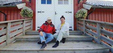 Simen Stensbøl (27) og Paria Ahmadzadeh (23)