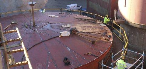P200: Sinkverket Boliden er i rute med 350 millioner-prosjektet P200, samtidig som de i 2015 leverte sitt nest beste produksjonsresultat.