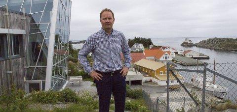 SKAL LEDE: Adm.dir. Lars Peder Solstad i Solstad Offshore blir konserndirektør i den fusjonerte offshore-giganten, som får hovedbase i Skudeneshavn. Arkivfoto: Arnstein Olaisen