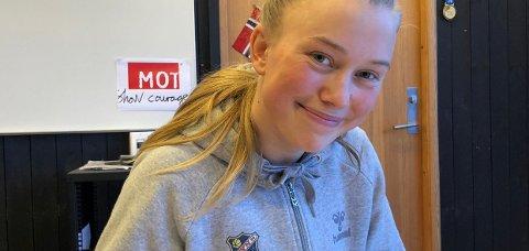 KONTRAKT: Emilie Bølviken har nå signert for eliteserielaget Lyn og er nå i Tyrkia på treningsleir.FOTO: LYN