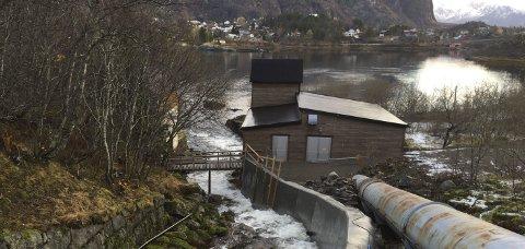 Evigung: Kraftstasjonen i Leirosen er Lofotens eldste.Alle foto: Lofotkraft