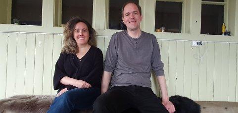 Christina Granados og Andreas Eilertsen gleder seg til å komme i gang med sommerprogrammet.