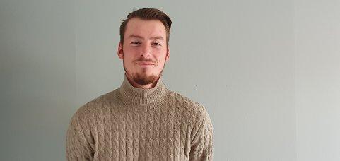 Nikolai Andersen er keeper på Ballstad UIL.