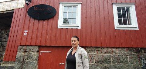 Anita Jentoft åpner butikken lørdag.