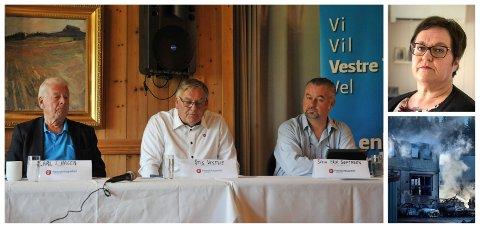 REAGERER: Etterlatt etter Metallco-ulykken, Tove Solbakken Aandahl, reagerer på at Frp og Carl I. Hagen drar den tragiske hendelsen som kostet mannen, Sverre Aandahl, inn i hjemmetjeneste-krisen i Vestre Toten.