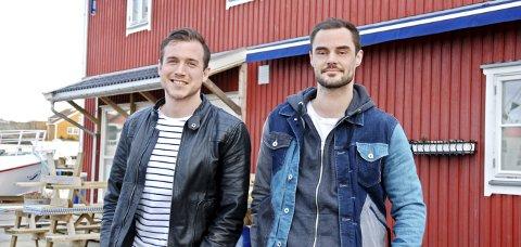 Byr på noe nytt: Martin Diesen  og Thomas Seeberg driver Hvasser Gjestehus og gleder seg til sin andre sesong her.