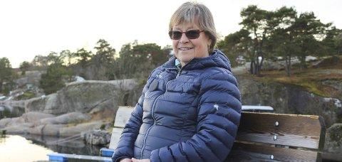 Anne Marie Indseth er politiker i Færder, og samtidig leder i Østbygda Vel og Båtforening. Det er i sistnevnte rolle hun nå har sendt brev til kommunen. Foto: Arkiv