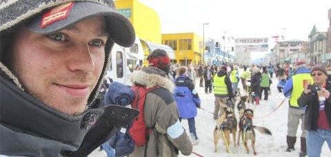 TRIUMF: Joar Leifseth Ulsom vant sitt første Iditarod i fjor. Nå er han klar for en ny prøvelse fra Anchorage til Nome i Alaska. Løpet er verdens lengste og mest krevende med sine nesten 160 mil. Foto: Mille Porsild