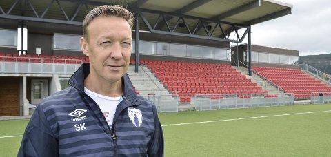 Leder i Rana FK, Ståle Krokstrand. Foto: Trond Isaksen