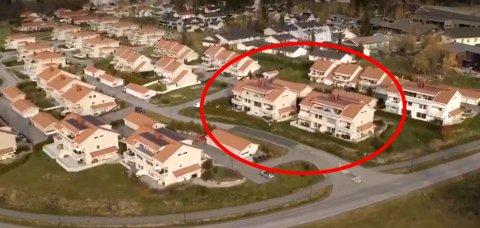 Før raset: De aller fleste av dem som ble hardest rammet av skredkatastroden i Gjerdrum bodde i disse to femmannsboligene.