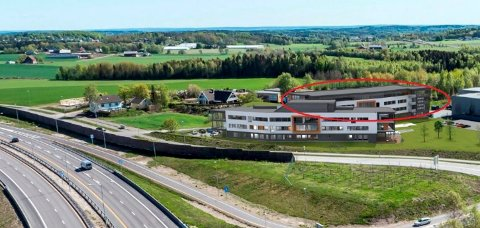 UTVIDELSER: Påbygg på Tassebekk Office Center blir innlemmet i den nye kommuneplanen. (Illustrasjon: PV Arkitekter)