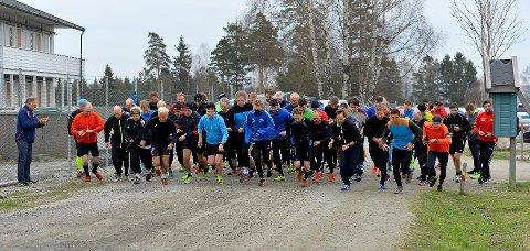 71 personer startet under Torsdagsløpet 20. april.