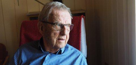 Jørg Jebsen sitter hjemme i godstolen og tenker tilbake på de 90 årene han har tilbrakt på Berger.
