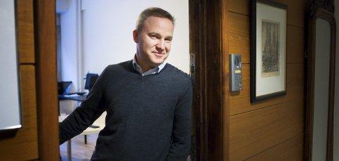 REDAKSJONEN:  Helge Lurås og Resett har lokaler sentralt i Oslo, rett ved Rådhuset, men det meste av arbeidet til de fire ansatte på heltid gjøres hjemmefra. .