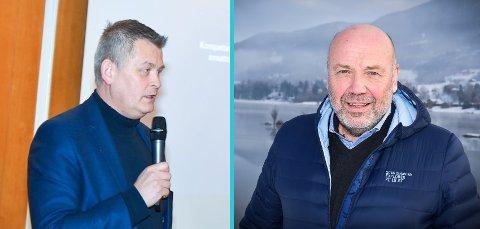 UENIGE: Kjell Grønbeck i KrF er svært kritisk til at informasjon om tilbudet fra Ole Sunnset i Ringeriks-Kraft er lekket ut.