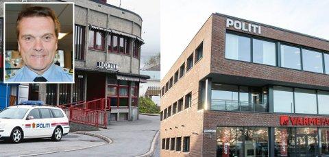 FREDER: Øyvind Aas freder staben ved politiets baser i Eiker.