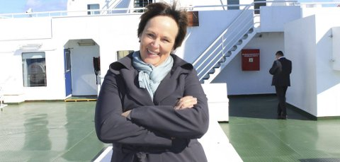 FORNØYD: Margunn Ebbesen gleder seg stort over at fagskolen fikk ja. - Det betyr også oppbygging av mye kompetanse.