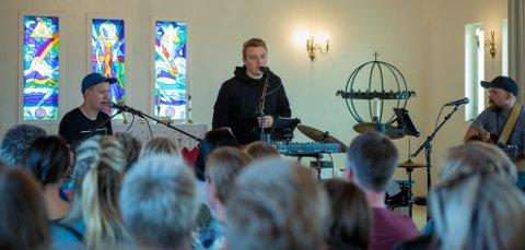 DER ALT STARTET: I 2019 var Bilal igjen tilbake i kirken på Sørøya der han sto første gang i 2013.