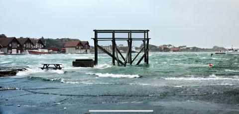 SIREVÅG HAMN: Slik kan det sjå ut i indre hamn i Sirevåg ein haustdag. Her vil Hå kommune byggja servicebygg.