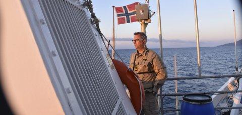 SJEF: Svein Walle leder den norske delegasjonen av politifolk som er med på redningsoppdrag i Middelhavet. ALLE FOTO: KRIPOS