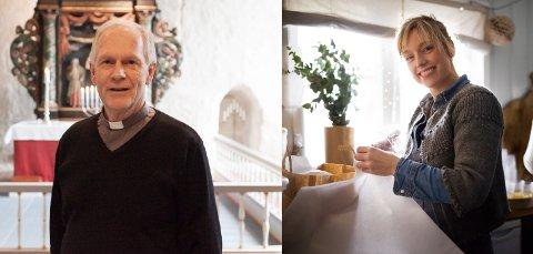 HVER SIN FAVORITT: Sokneprest Svein Olav Nicolaisen har en klar favorittjulefilm. Det har også Stine Marie Bjørnstad.