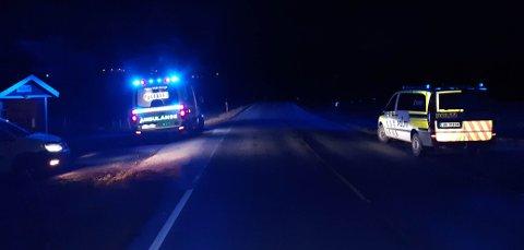 Trafikkulykke ved Bergem i Tingvoll.