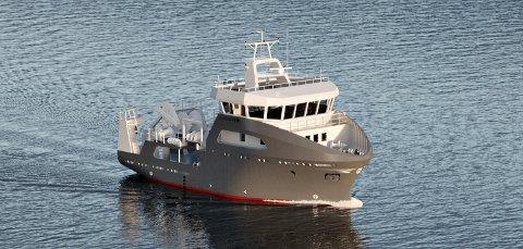 Forskningsfartøyet skal utrustes ved Vaagland Båtbyggeri i Halsa og leveres til Universitetet i Tromsø høsten 2022.