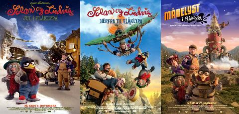Populære: Maipo Films filmer om Flåklypa-universet setter rekorder på Kvitvella kino.