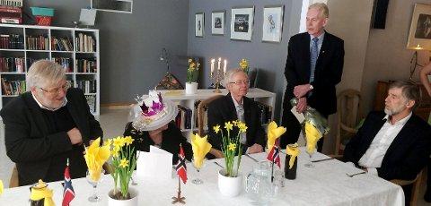 FRA FEIRINGEN: Under talen som ble holdt av varaordfører Ole Kristian Udnes.