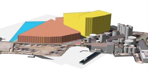 Slik er planen illustrert. (Skjermknips fra Bodø kommunes nettsider).