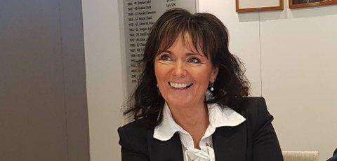 JOBBER: Kari Lindevik i Divisjonsforeningen jobber for at Norsk tipping-ligalagene skal få åpnet for normaltrening, så får avdeling og oppsett komme i neste omgang.