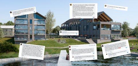 MANGE MENINGER: Ikke alle er positive til hotellplanene, men det er også en god del som heier på planene til Jørgen Broch.