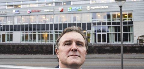 Store verdier: Knut H. Johansen er administrerende direktør i Esmart Systems. Arkiv.