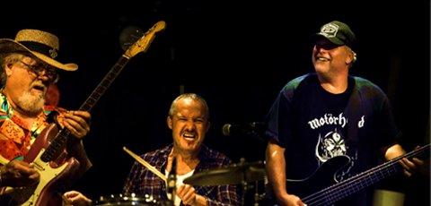 KOMMER: Sky High kommer til konserten på Kokkekollektivet med samme oppsetning som de hadde da de spilte på Karjolen i 1984.