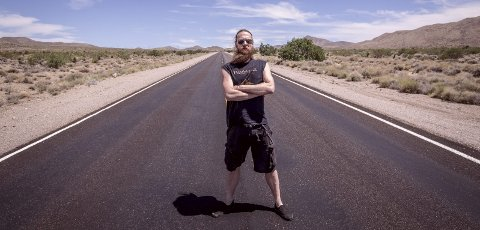 Thomas Mork Eriksen: Born to be Wild, på vei til Las VegasfOTO HER OG UNDER: dANIEL pEDERSEN pUNKROCKpHOTO