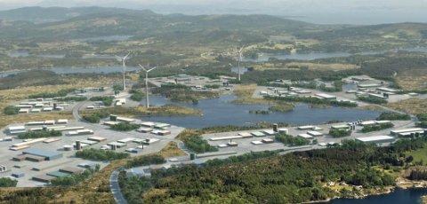 NY EIER: NVE ber om dokumentasjon på at vilkår for luftfartsmerking vil bli overholdt hos Gismarvik Vindkraftverk.