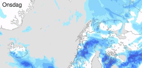 Fra onsdag kan det komme sludd- og snøbyger i Øst-Finnmark.