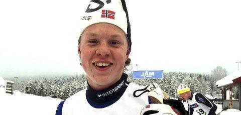 GODKJENT: To bra løp av skrimgutten Albert Berget i junior-NM.